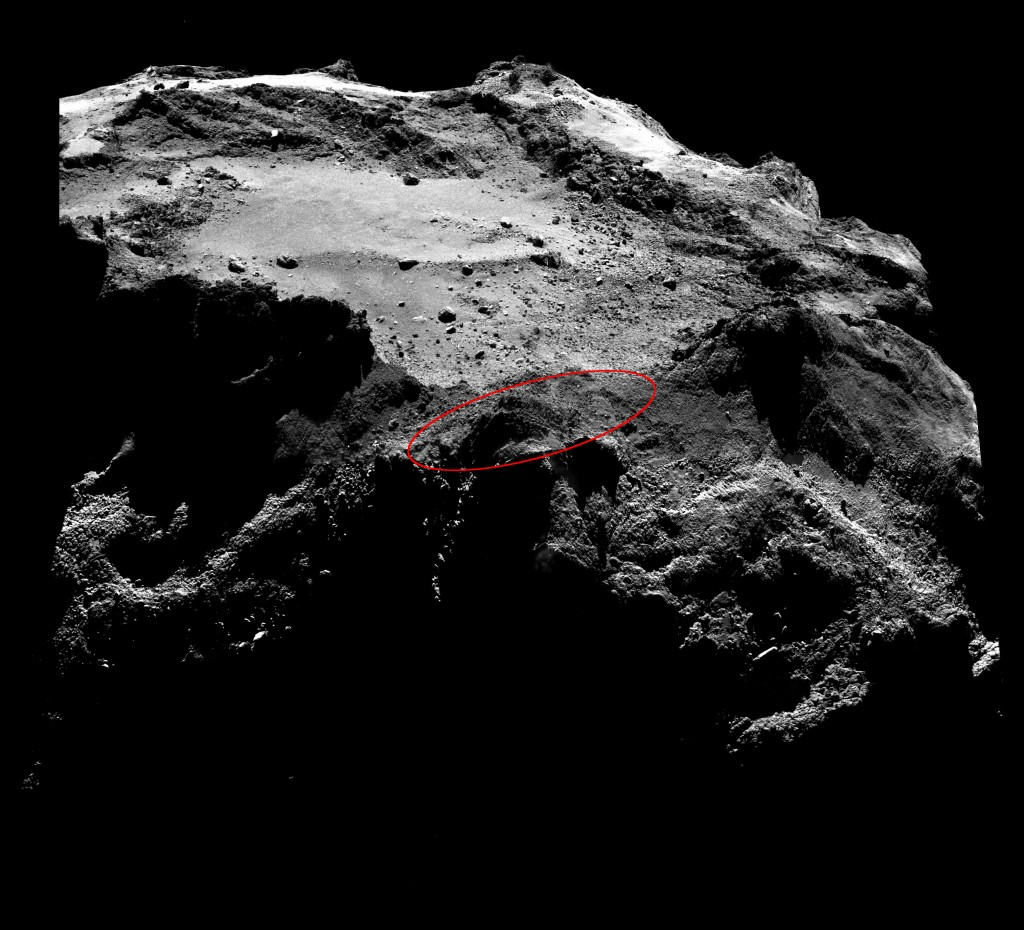 Image credits: ESA/Rosetta/MPS for OSIRIS Team MPS/UPD/LAM/IAA/SSO/INTA/UPM/DASP/IDA