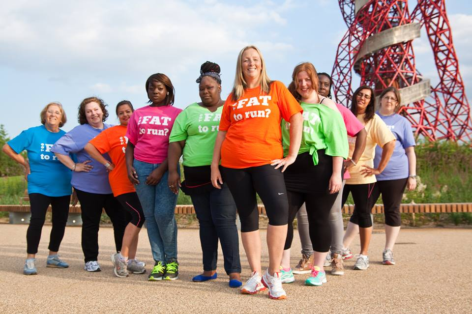 You can be fat and still run marathons. (Image credit: TooFatToRun.co.uk)