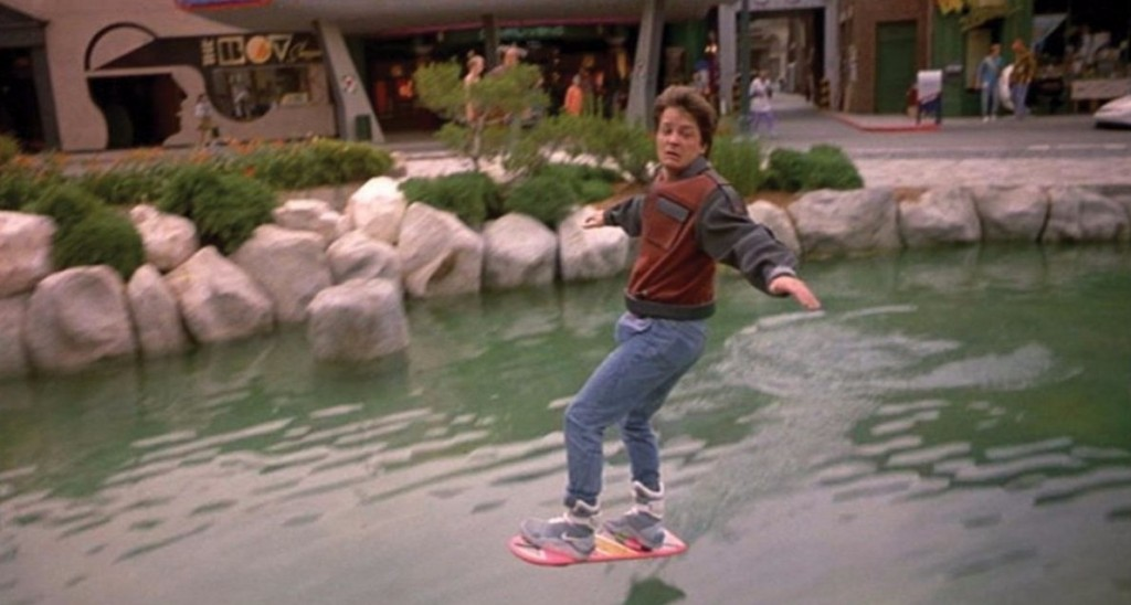 Hoverboards featured in the Back To The Future films (Image Credit: Universal Pictures).