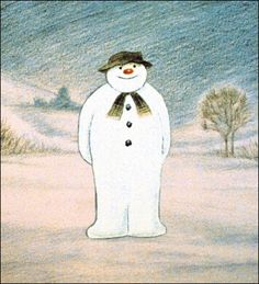 Raymond Briggs' snowman would have looked a bit different if he was made from hail.